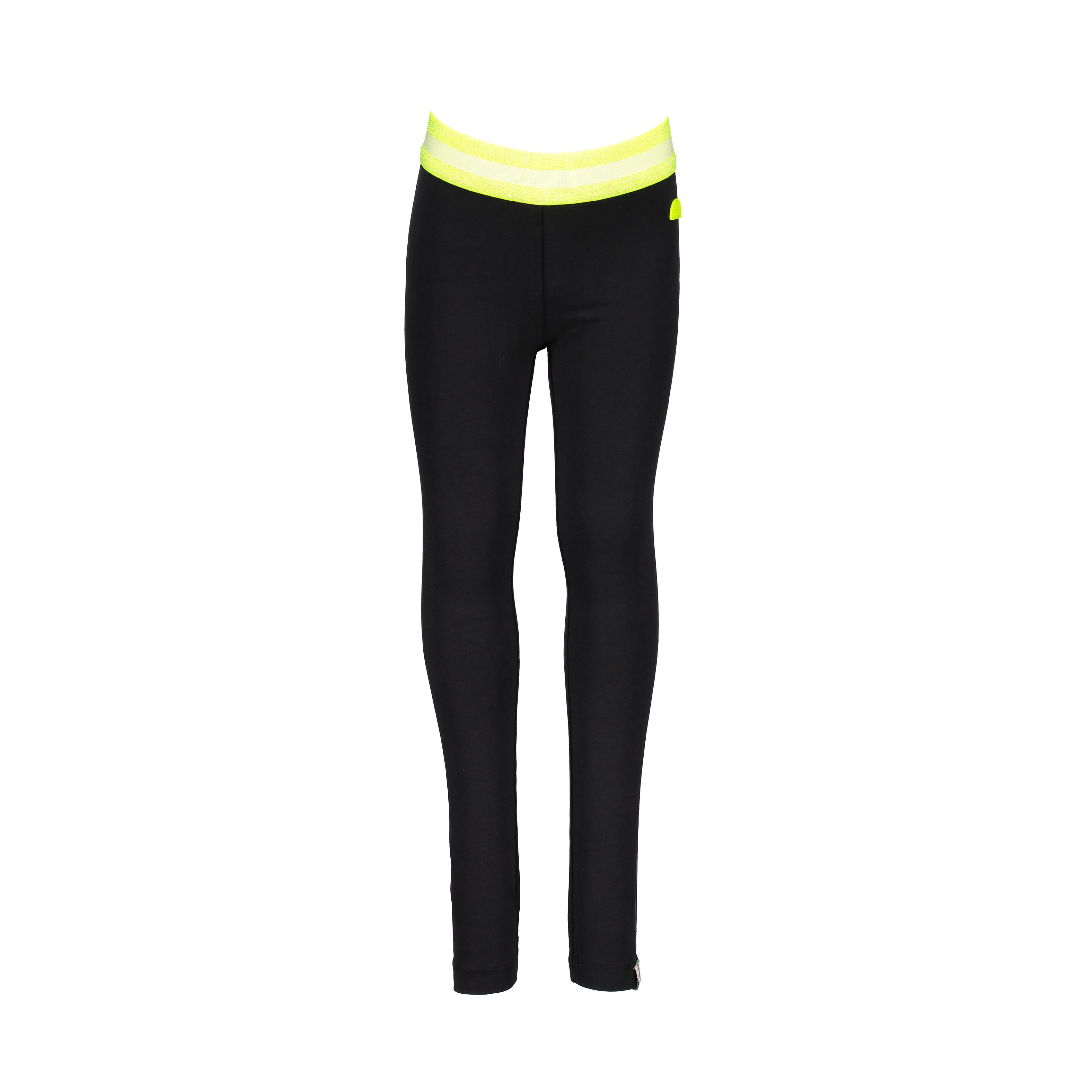 23dfed07538 B.Nosy legging voor girls. Zwarte legging met elastieken boord.